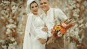 العروس حامل ..  حفل يثير الجدل بمصر - فيديو