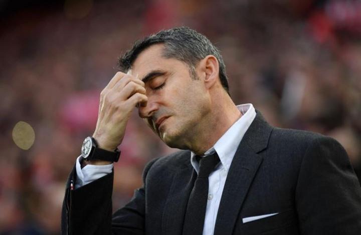 كواليس إقالة برشلونة لمدربه فالفيردي وتعيين سيتين