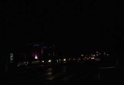شوارع كركية تغرق بالظلمة الليلية