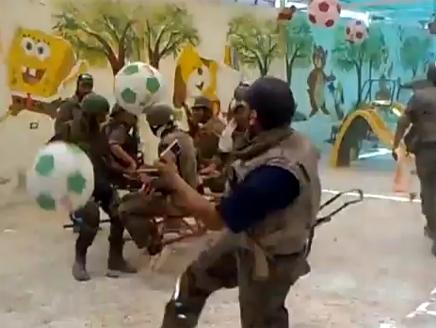 فضيحة جديدة يقدمها التلفزيون السوري من داريا مرة أخرى