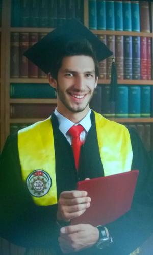 """مبارك التخرج لــ""""طارق بركات الشريف """""""