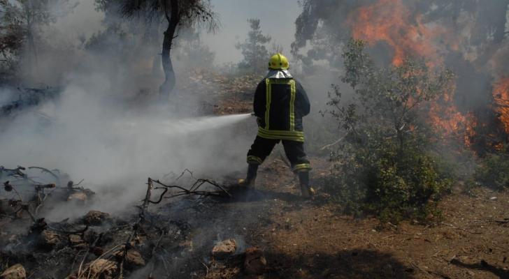 مدير الدفاع المدني: تعاملنا مع 8506 حرائق أعشاب وغابات في 6 أشهر