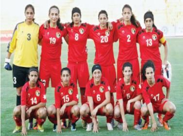 منتخب الكرة النسوي يختار 18 لاعبة لمواجهة إيران وديا