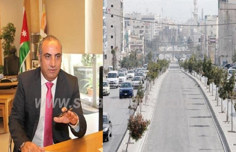 """أمين عمان الشواربة سيحمل الاردنيين (3.5) مليون دولار  كلفة تأخير مشروع """"الباص السريع""""  ..  فأين الرزاز ؟؟"""