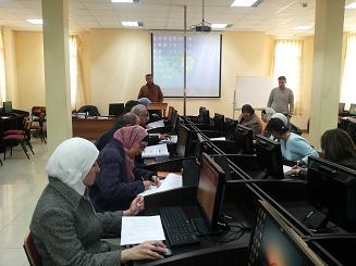 دورات متخصصة في مركز التطوير الأكاديمي في جامعة البترا