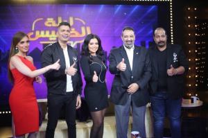 بالفيديو و الصور  ..  رانيا يوسف ترقص على غناء حسن شاكوش