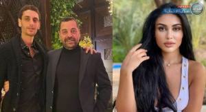 بالصور  ..  شيرين أبو العز تكشف تفاصيل مشاجرة ابن طارق العريان في لبنان