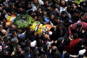 الاحتلال يُعيد جثماني شهيدين ..  صورة