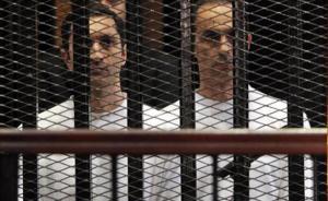 ابناء مبارك علاء و جمال يغادران السجن