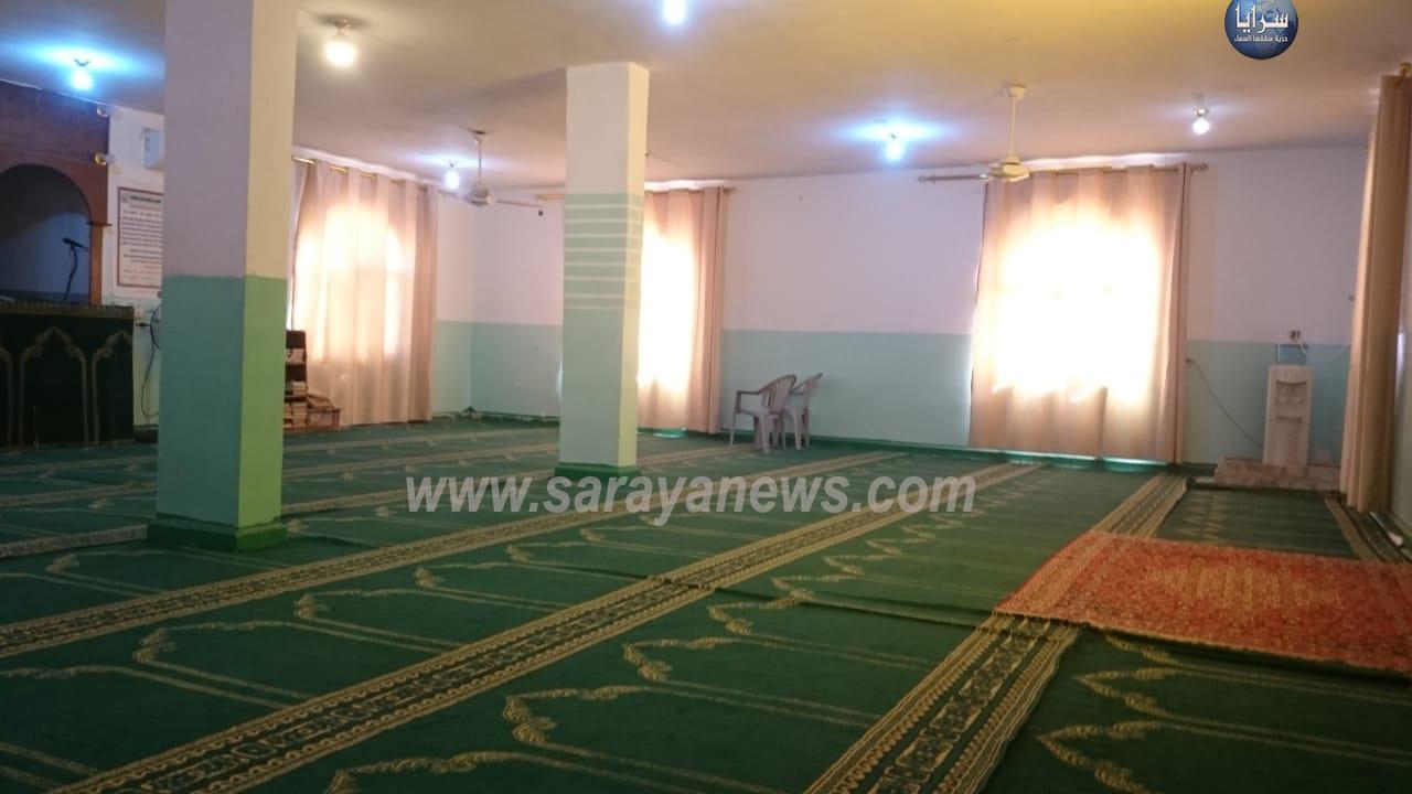 مدير أوقاف البادية الشرقية لسرايا : مسجد السعادة يوجد به موذن وخادم
