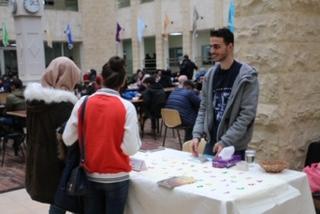 """""""بالعربي"""" ..  حملة للمحافظة على اللغة في جامعة الشرق الأوسط"""