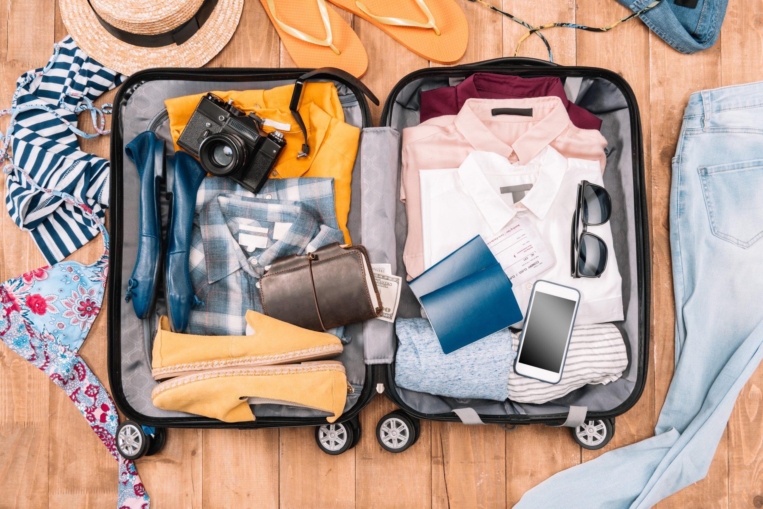 تعرف على أفضل الطرق لترتيب شنطة السفر