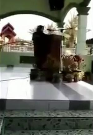بالفيديو - وفاة داعية إسلامية أثناء تلاوتها لبعض الأدعية