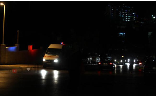 3 إصابات بحادث تدهور مركبة على طريق عنجرة راجب