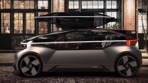 بالصور  ..  فولفو تطرح سيارة جديدة يمكنك تحويلها إلى غرفة نوم متنقلة