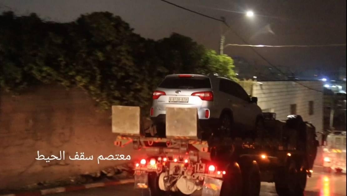 اعتقالات للاحتلال بالضفّة ومصادرة مركبة بالطيرة