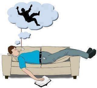 ظاهرة السقوط اثناء النوم … وتفسيرها