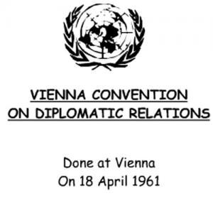"""تعرف على نص اتفاقية فيينا التي """"تتحجج"""" بها اسرائيل لحماية قاتل الاردنيين بمحيط السفارة الاسرائيلية"""