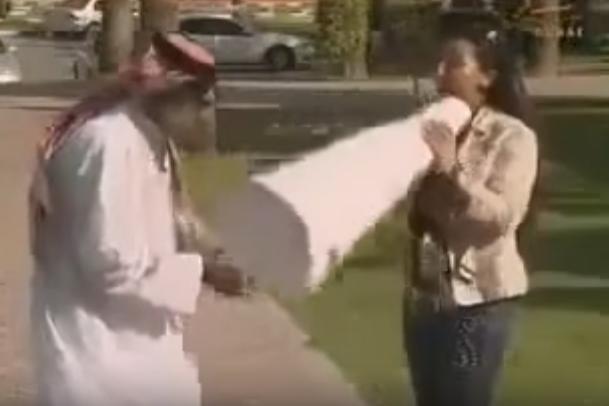 كاميرا خفية خطيرة عربية مابسمع