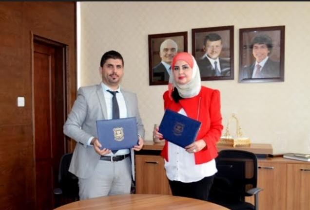 عمان الأهلية توقع اتفاقية مع شركة الملكية الأردنية للسياحة والسفر