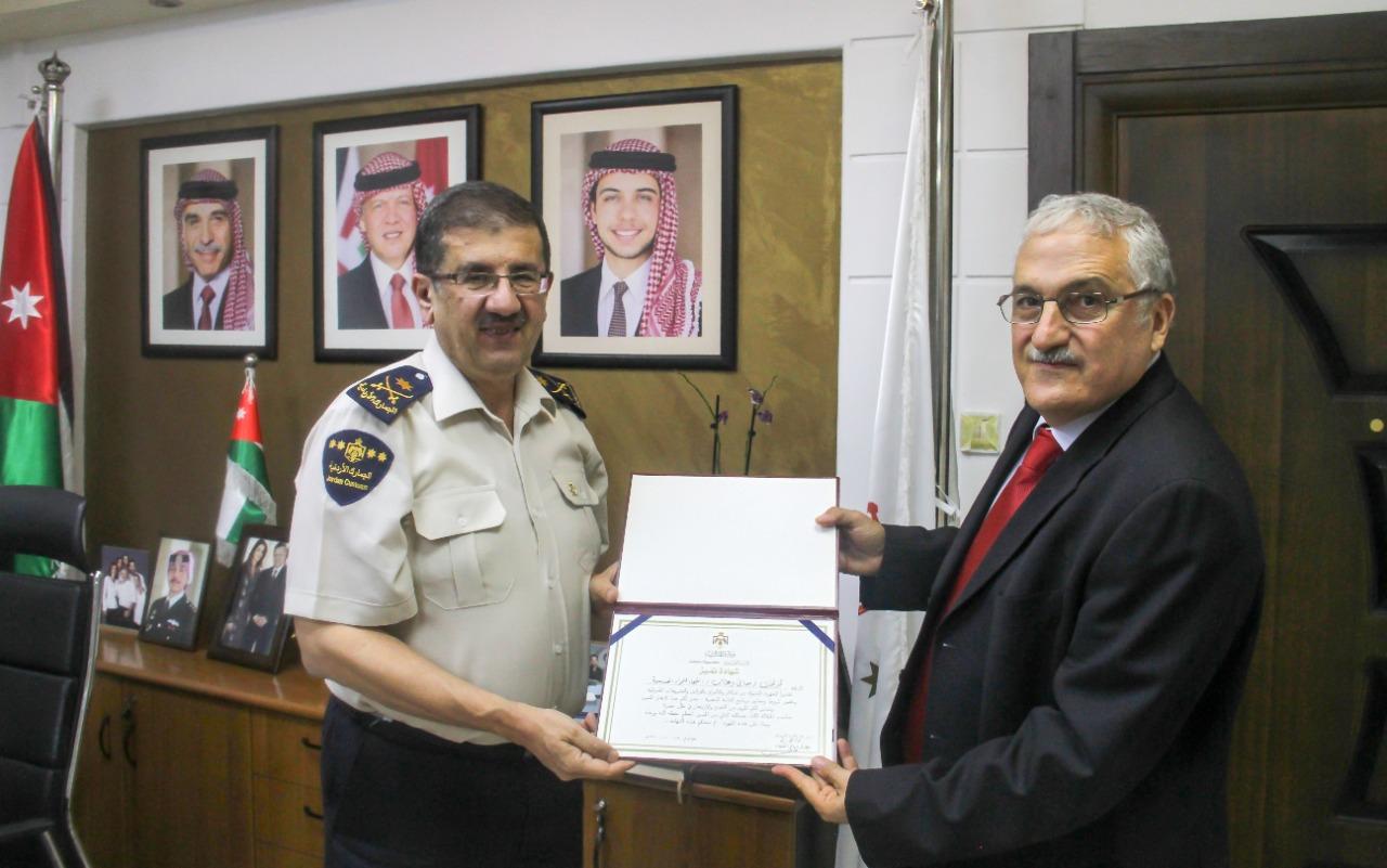 الجمارك الأردنية: 111 شركة ضمن القائمة الذهبية