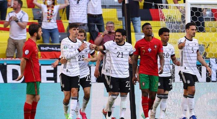كبرياء الألمان يتفوق على البرتغال