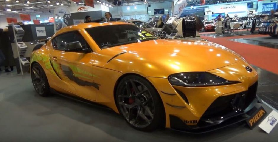 بالصور  ..  أجدد سيارات اليابان التي ستشارك في فاست أند فيوريوس 9 ظهرت في ألمانيا
