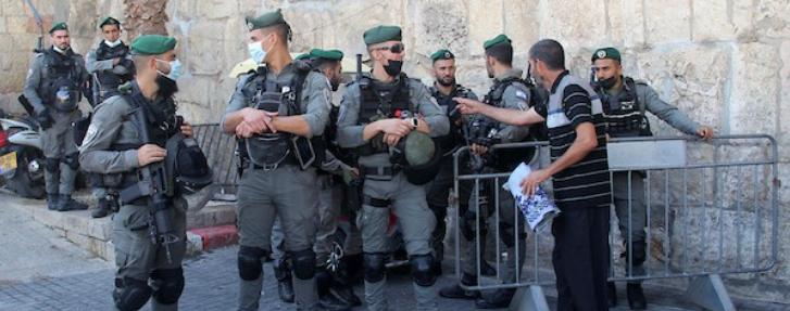 إغلاق عدد من الشوارع والأحياء في القدس