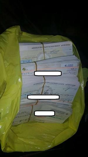القبض على عصابة بالرمثا سرقت شيكات بمبلغ مليون و700 الف دينار