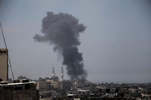 16 شهيداً في غزة وتدمير مقر الامن الداخلي