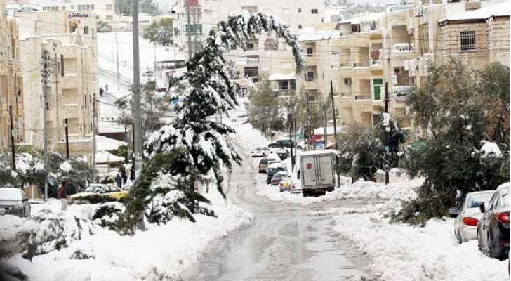 هل تتساقط الثلوج مجددا على الأردن؟