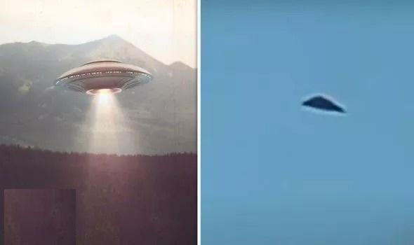 """بالفيديو  ..  يشبه """" الطبق الطائر"""" ..  لحظة رصد جسم غريب يطير في سماء إنجلترا"""