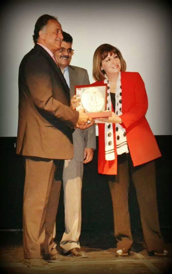 اختيار الدكتور علي عبدالله عميد كلية العمارة والتصميم في جامعة عمان الأهلية الشخصية الثقافية العربية المتميزة لعام 2014