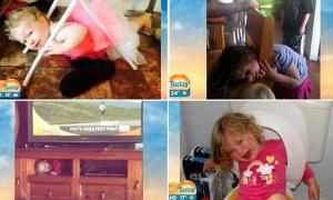 """بالصور.. الأطفال يحتجزون أنفسهم في أغرب الأماكن و """"أصعبها أحياناً"""""""