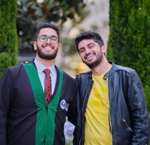 محمد جهاد أبو خديجة  ..  مبارك التخرج