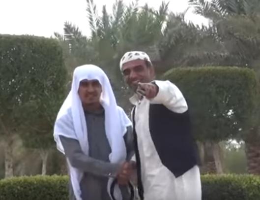 كاميرا خفية سعودية قله انك اخوي