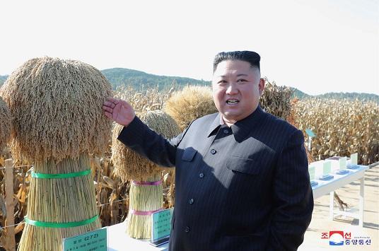 """زعيم كوريا الشمالية """"كيم """" يظهر بعد شهر من الغياب"""