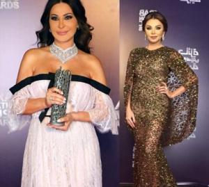 بالفيديو.. اليسا تهاجم الفنانة رزان مغربي عقب حصولها على 3 جوائز