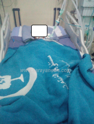 اهل فتاة من الرويشد يناشدون جلالة الملك عبدالله لادخال ابنتهم الى المستشفى