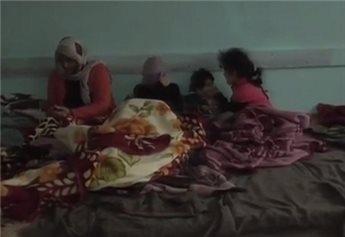 خسائر فادحة في غزة جراء المنخفض الجوي