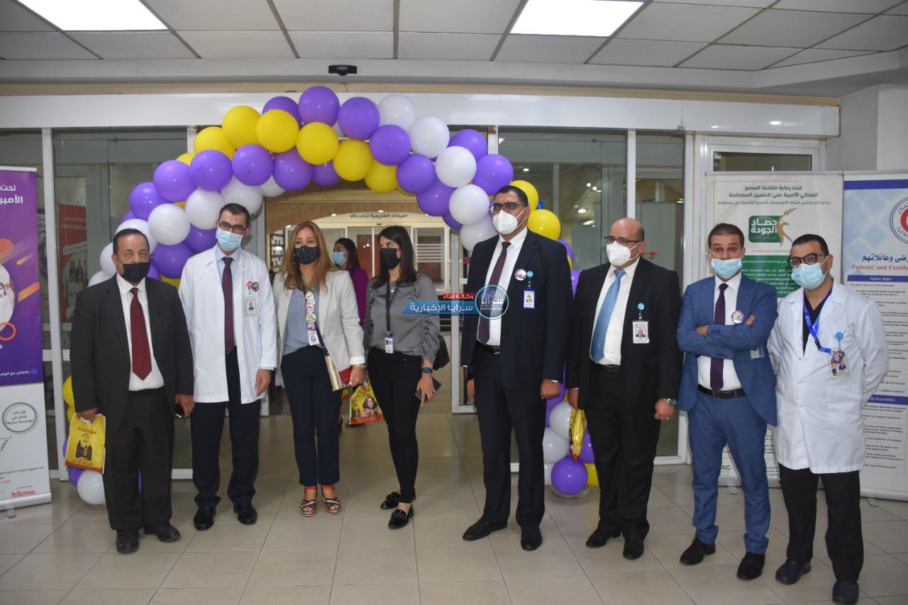 مستشفى الاستقلال يقيم عدة نشاطات بمناسبة يوم التغيير الثامن  ..  صور