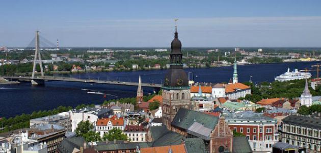 بالصور  ..  أين توجد لاتفيا