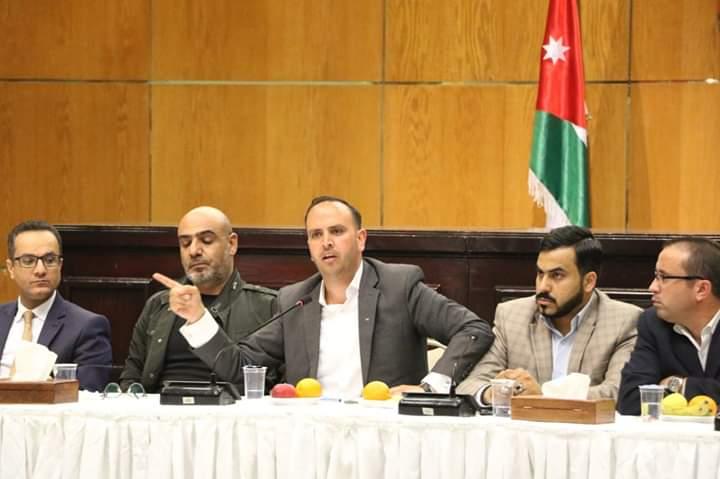 شباب أردنيون يجتمعون لاطلاق تيار شبابي أردنيّ، تحت مسمّى للأردن