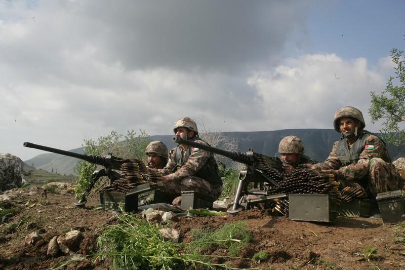 """""""حرس الحدود"""" تحبط تهريب كميات ذخيرة كبيرة من سوريا"""