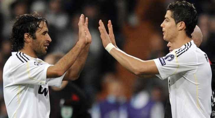رونالدو يحطم رقم راؤول في دوري الابطال