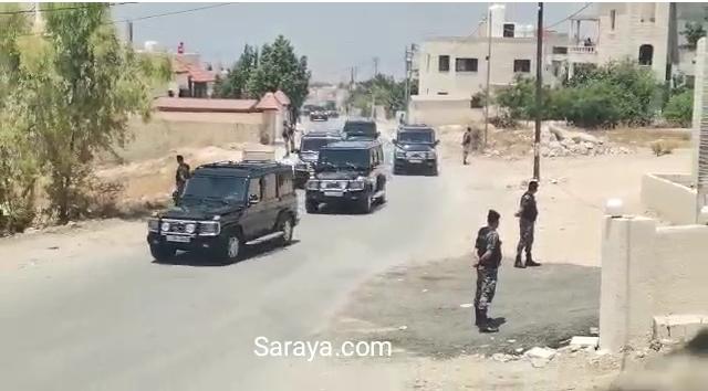بالفيديو ..  اربد : لحظة وصول الملك إلى ديوان عشيرة الشريده في لواء الكورة