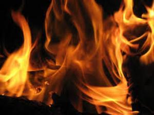 حريق يلتهم محتويات الصالة الرياضية في معان