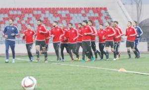 منتخب الكرة يبدأ تدريباته تحضيرا للتصفيات الآسيوية