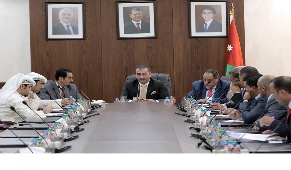 """""""البرلمانية الأردنية - الكويتية"""" تلتقي السفير الدعيج"""