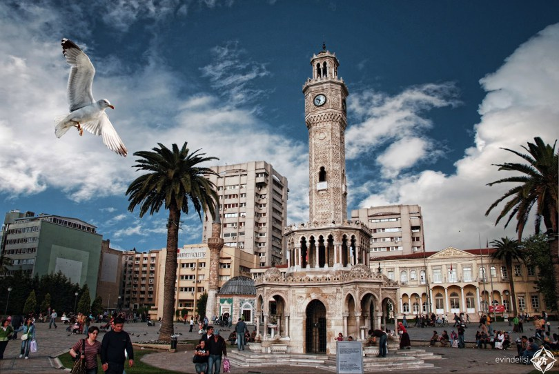 الاماكن السياحية في ازمير التركية  ..  عروس بحر إيجة .. صور